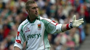 Peter Burke kept goal for Mayo in two All-Ireland finals