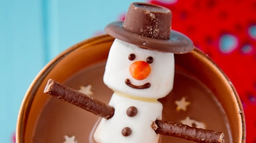Is there anything more comforting than a cup of hot chocolate?