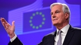 Barnier says EU ready to start talks when UK is