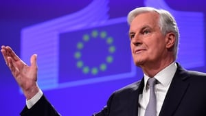 Michel Barnier said: 'My priority is to get the right deal for EU27'