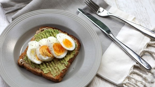Boiled Egg and Avocado Toast