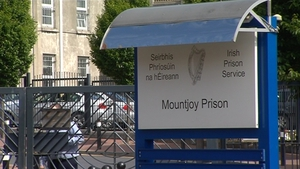 The incident happened at Mountjoy Prison in June 2016