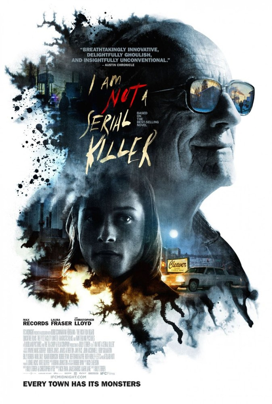 "Director and star of ""I Am Not A Serial Killer"""