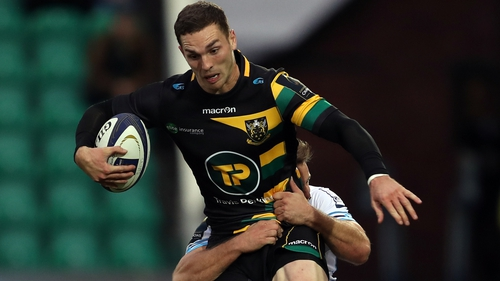 George North controversially passed a head-injury assessment earlier while playing for Northampton this month
