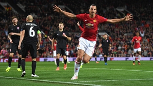 Zlatan Ibrahimovic scored the game's only goal when Zorya Luhansk came to Old Trafford