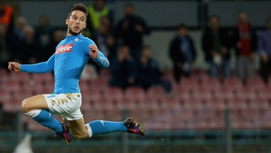 Dries Mertens was on the mark for Napoli