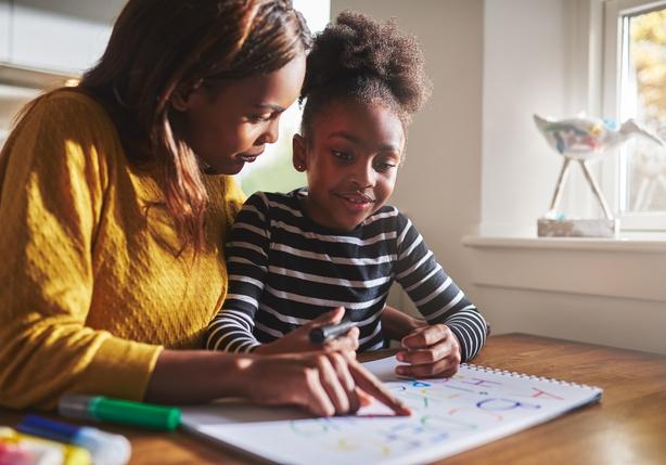 parent child homework