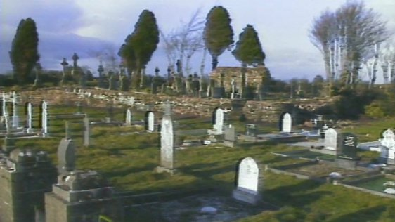 Gravestones Row In Sligo