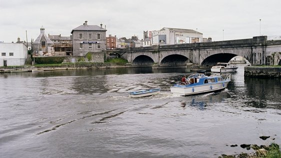 River Shannon At Athlone