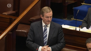 Enda Kenny was responding to Labour Leader Brendan Howlin, who said there was still shock at what had happened to pensions at INM
