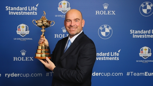 Thomas Bjorn led the European Team to Ryder Cup success in 2018