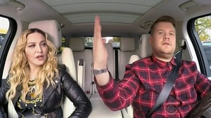Madonna and James Corden
