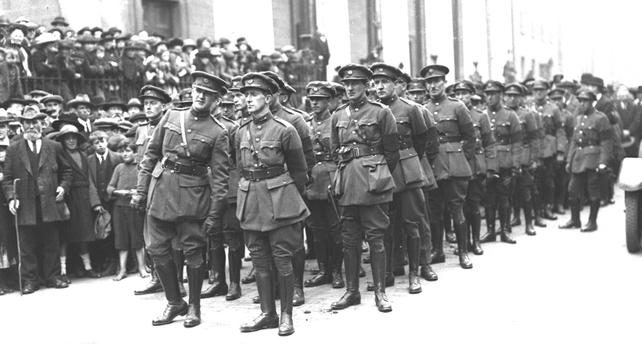 Funeral of Arthur Griffith 1922.