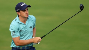 Paul Dunne shot a 67 in his third round