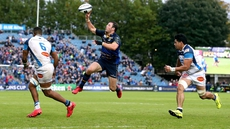 Robbie Henshaw in action against Castres in October