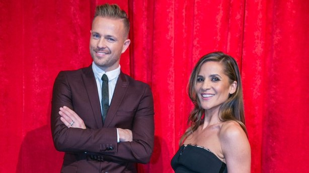Dancing with the Stars hosts Nicky Byrne and Amanda Byram