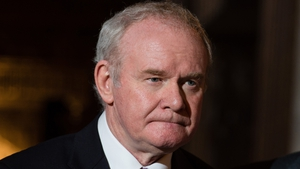 Martin McGuinness stood down from frontline politics last week