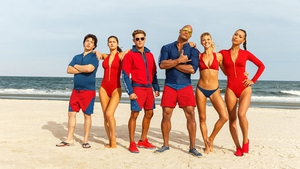 Babes, brawn and bad jokes and a lot of explosive moments dominate the new Baywatch trailer