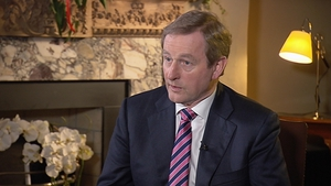 Enda Kenny said anything was possible if people were talking