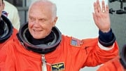 John Glenn was the first American to orbit the Earth and also the oldest person to go into space