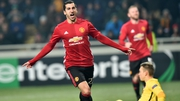 Mkhitaryan was on the scoresheet against Zorya Luhansk