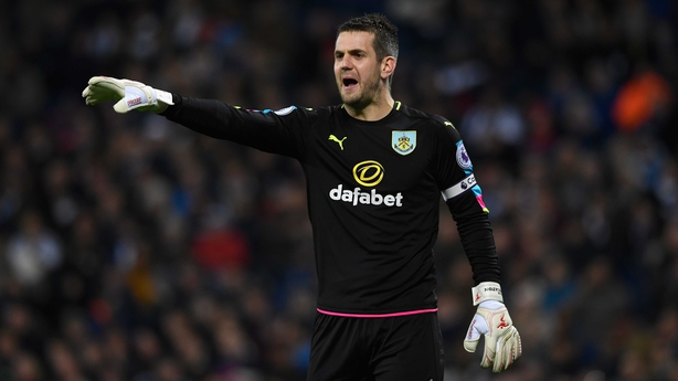 Tom Heaton is available