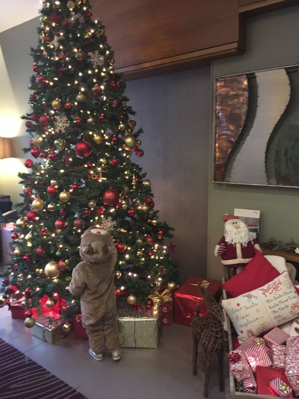 Christmas Decoration at Jurys Inn, Belfast