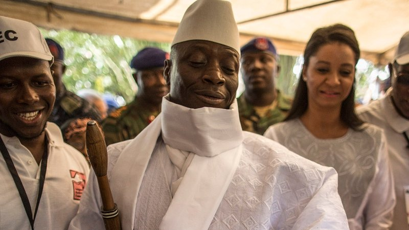 Yahya Jammeh said he no longer accepts the outcome of the election