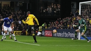 Stefano Okaka scores his first goal