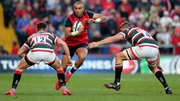 Simon Zebo on the charge against Leicester