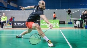 Scott Evans was beaten in the final