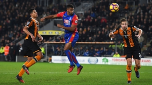 Fraizer Campbell scores Crystal Palace's equaliser