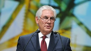 Rex Tillerson is due to meet Mexico's President tomorrow