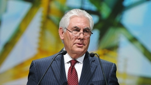 Rex Tillerson is the former Exxon Mobil Corp chairman