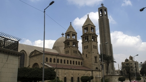 The explosion occurred near the cathedral in Cairo