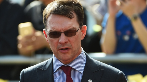 Aidan O'Brien was delighted with Japan's performance