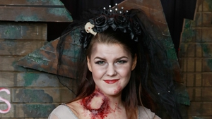 Saara Aalto pictured at Kiss FM's Haunted House Party