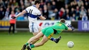 St Vincent's Diarmuid Connolly scores the first goal of the game