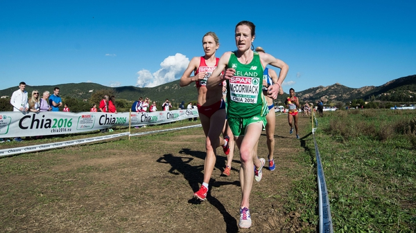 Fionnuala McCormack finished in fifth place in Chia