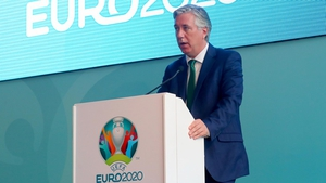 John Delaney is now a member of the UEFA executive committee