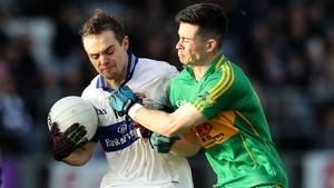 Gavin Burke (L) praised the impact of Diarmuid Connolly
