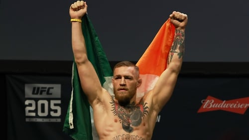 Are you excited by Conor McGregor's role. Because we aaaaaar.