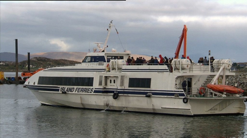 The ferry service ceased in late November, and was temporarily reinstated around a week later