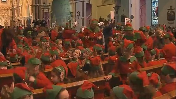 Elves in Nenagh Cathedral