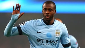 Yaya Toure isn't ready to wave goodbye to the English game just yet