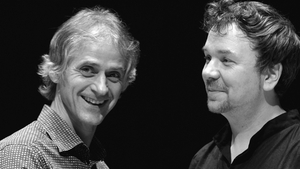 Stockhausen (trumpet, flugelhorn) and Weber (piano) - shimmering, glacial warmth and instinctive sharing