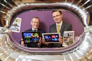 Tourism Ireland CEO Niall Gibbons and Minister of State for Tourism and Sport Patrick O'Donovan