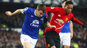Seamus Coleman has made 13 appearance for Everton this season
