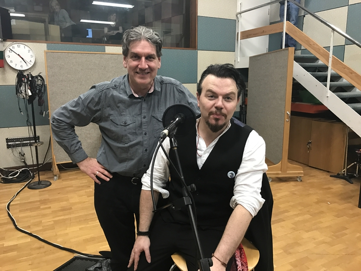 Jack Lukeman in session