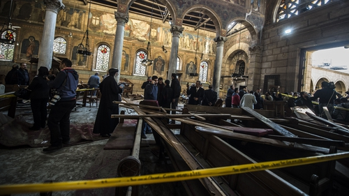 Islamic State claims responsibility for Egypt church bombing